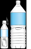 ペットボトルのバナー